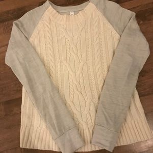 Lululemon size 8 wool sweater. Great condition!